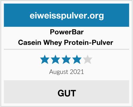 PowerBar Casein Whey Protein-Pulver  Test