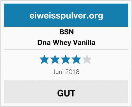 BSN Dna Whey Vanilla Test