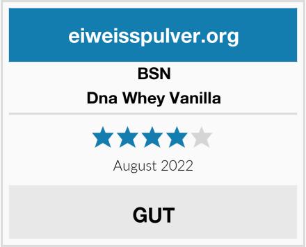 BSN Dna Whey Vanilla Test