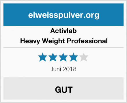 Activlab Heavy Weight Professional Test