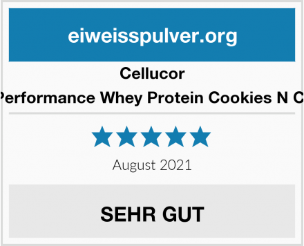 Cellucor Cor Performance Whey Protein Cookies N Cream Test