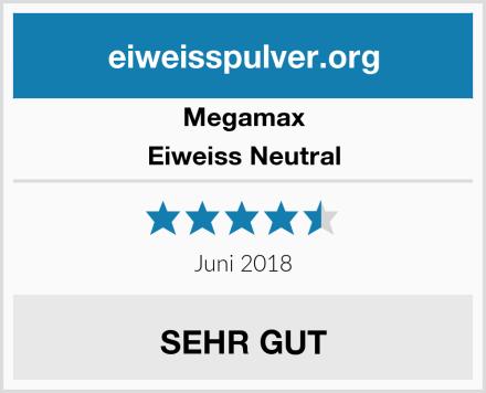 Megamax Eiweiss Neutral Test