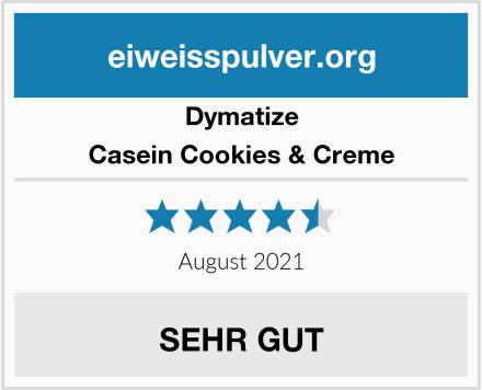 Dymatize Casein Cookies & Creme Test