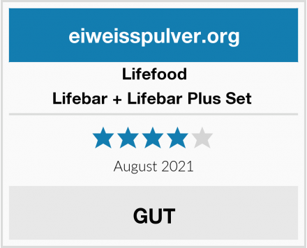 Lifefood Lifebar + Lifebar Plus Set  Test