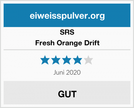 SRS Fresh Orange Drift Test