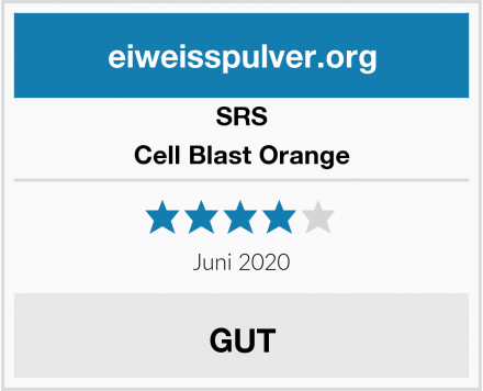 SRS Cell Blast Orange Test