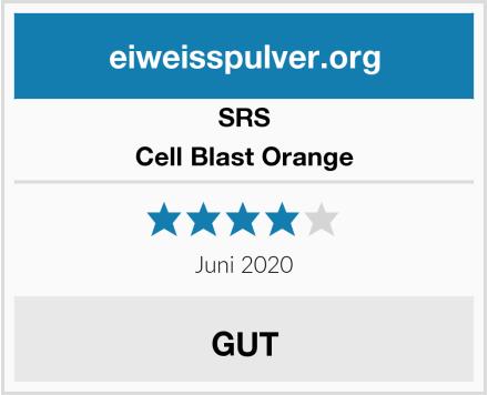 SRS Cell Blast Orange Test