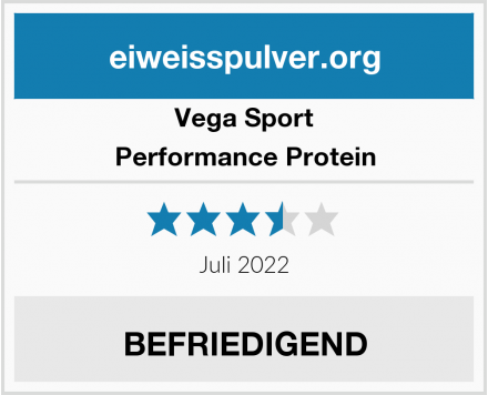 Vega Sport Performance Protein Test