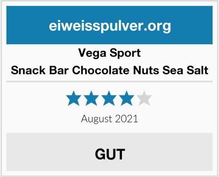 Vega Sport Snack Bar Chocolate Nuts Sea Salt Test
