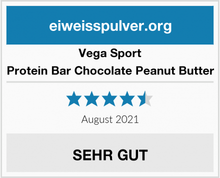 Vega Sport Protein Bar Chocolate Peanut Butter Test