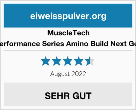 MuscleTech Performance Series Amino Build Next Gen Test