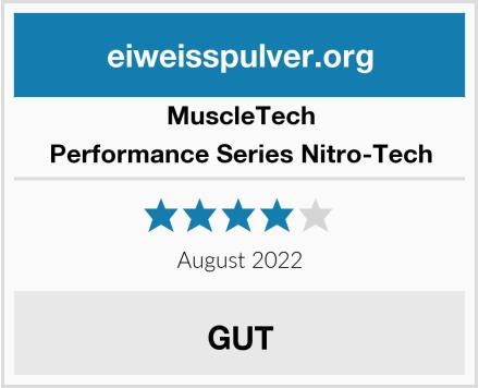 MuscleTech Performance Series Nitro-Tech Test