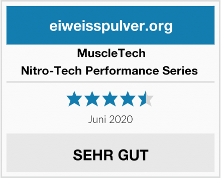 MuscleTech Nitro-Tech Performance Series  Test
