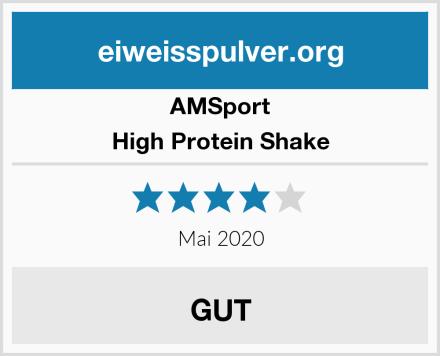 AMSport High Protein Shake Test