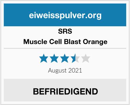 SRS Muscle Cell Blast Orange Test