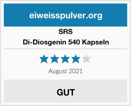SRS Di-Diosgenin 540 Kapseln Test