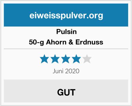 Pulsin 50-g Ahorn & Erdnuss Test