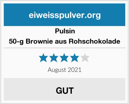 Pulsin 50-g Brownie aus Rohschokolade Test