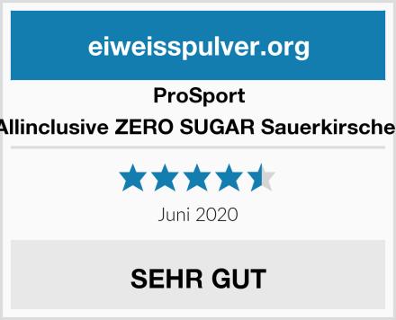 Prosport Allinclusive ZERO SUGAR Sauerkirsche  Test