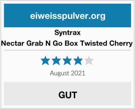 Syntrax Nectar Grab N Go Box Twisted Cherry  Test