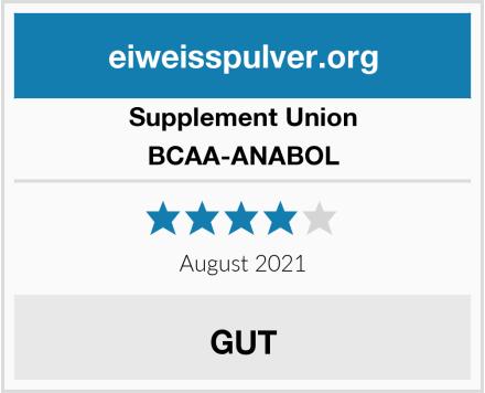 Supplement Union BCAA-ANABOL Test