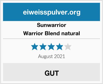 Sunwarrior Warrior Blend natural Test