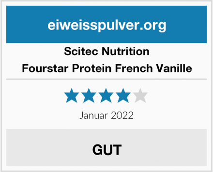 Scitec Nutrition Fourstar Protein French Vanille Test