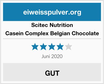 Scitec Nutrition Casein Complex Belgian Chocolate Test
