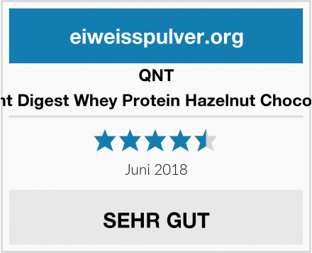 QNT Light Digest Whey Protein Hazelnut Chocolate Test