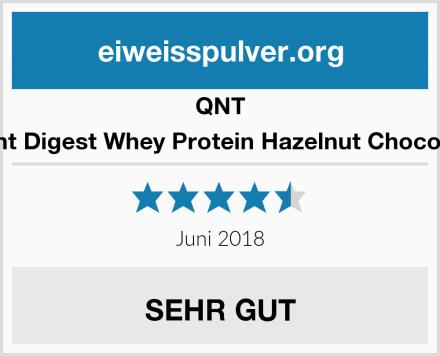 QNT Light Digest Whey Protein Hazelnut Chocolate Test