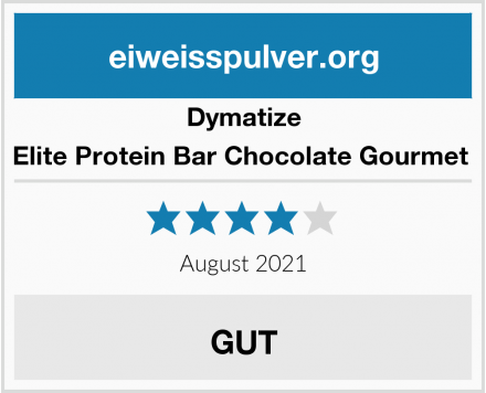 Dymatize Elite Protein Bar Chocolate Gourmet  Test
