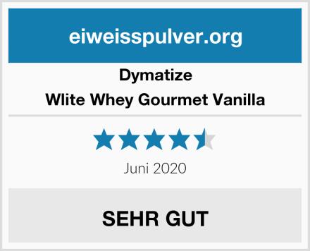 Dymatize Wlite Whey Gourmet Vanilla Test