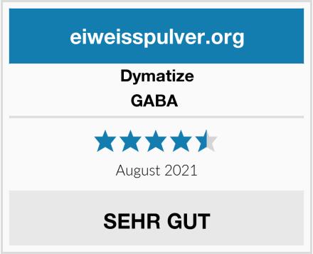 Dymatize GABA  Test