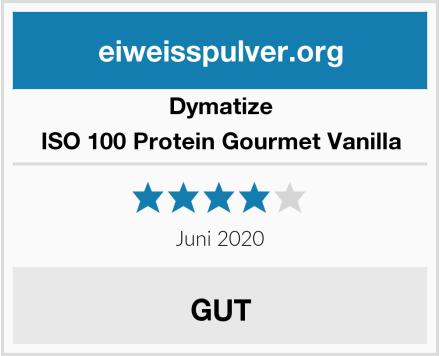 Dymatize ISO 100 Protein Gourmet Vanilla Test