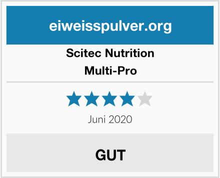 Scitec Nutrition Multi-Pro Test