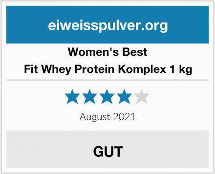 Women's Best Fit Whey Protein Komplex 1 kg Test
