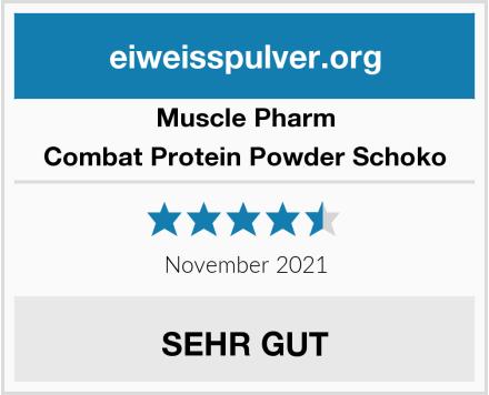 Muscle Pharm Combat Protein Powder Schoko Test