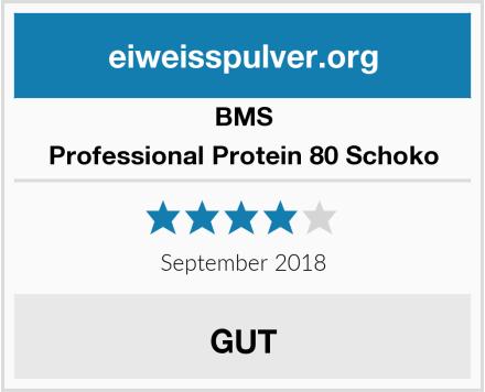 BMS Professional Protein 80 Schoko Test
