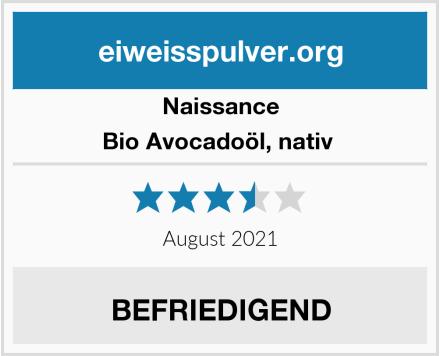 Naissance Bio Avocadoöl, nativ  Test