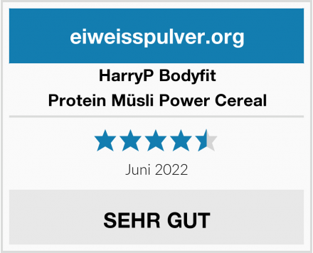 HarryP Bodyfit Protein Müsli Power Cereal Test