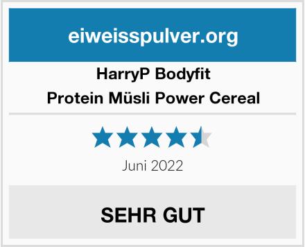 HarryP Bodyfit  Protein Müsli Power Cereal Test