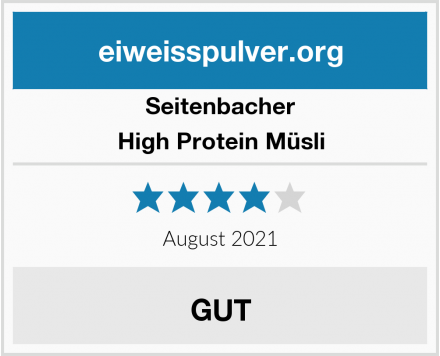 Seitenbacher High Protein Müsli Test