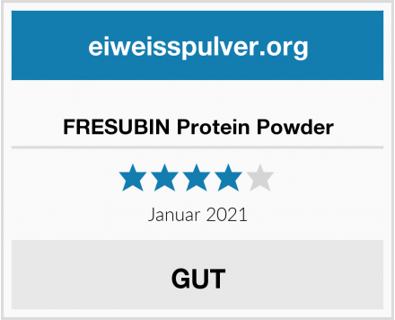 FRESUBIN Protein Powder Test