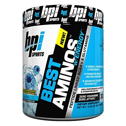 BPI Sports Best Aminos with Energy Blue Icy Raz