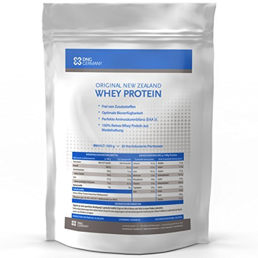 DNG Germany NEW ZEALAND WHEY PROTEIN