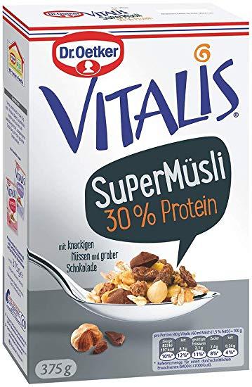 Dr. Oetker Vitalis SuperMüsli 30% Protein