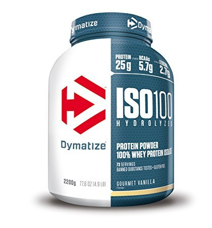 Dymatize ISO 100 Protein Gourmet Vanilla