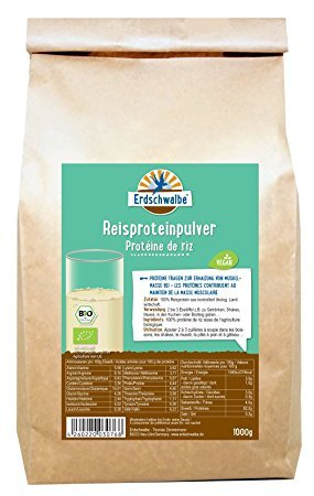 Erdschwalbe Bio Reisprotein