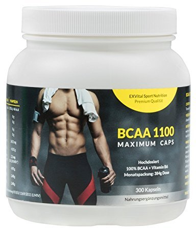 EXVital BCAA 1100 Maximum Caps