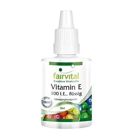 Fairvital Vitamin E ÖL 100 I.E. flüssig